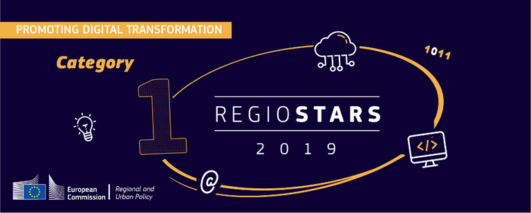 "[Translate to English:] ""Digitale Straße"" bei RegioStars-Awards 2019"