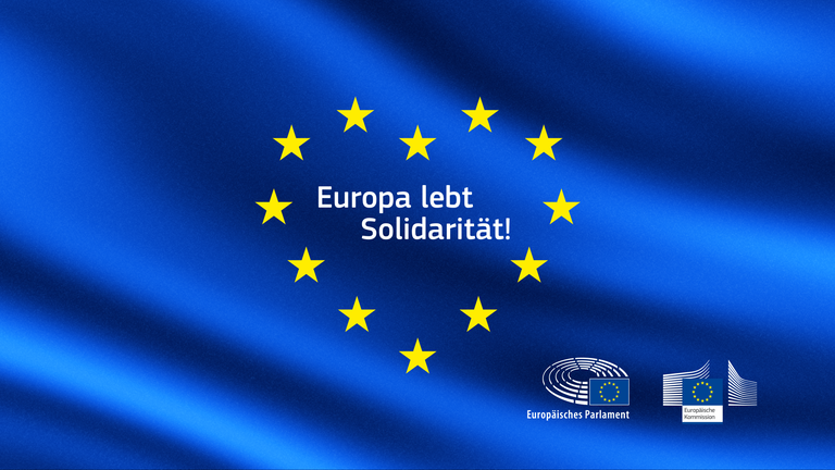 [Translate to English:] 9. Mai 2020 - Europatag digital - Seien Sie dabei!